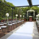 ガーデンチャペル。 「空に近いこの場所で愛を誓いたい!」と、そのためにnovia novioを選ばれるカップルが多い場所。『徳島』で『結婚式』を挙げるなら『ノビアノビオ』。