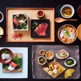 日本三大料亭「金田中」の和会席。日本で唯一出張しての「和」の会席料理をふるまいます。