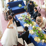 レストランWだからこそ叶う。アットホームで温かみのある結婚式。家族の絆が感じられる。