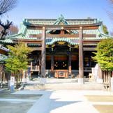 本所地区の総鎮守、隅田区のほぼ南半分と大変広い地域が氏子となっている。