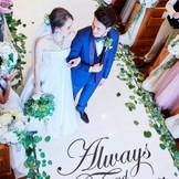 笑顔あふれる結婚式。大切なゲストと特別な時間を。