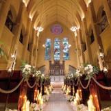 パイプオルガンが響き渡る大聖堂