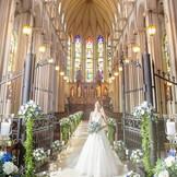 憧れの大聖堂。