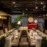 CROSS WEDDING スタイリッシュ空間をふたりのウエディングコンセプトやテーマでアレンジ