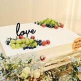 ウェディングケーキにもお二人のこだわりをたっぷりと プランナーと0ベースから創り上げるこだわりウェディング