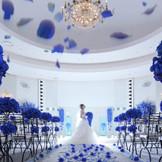 [奇跡][神の祝福]を意味する青バラのチャペル