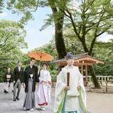 日本古来の伝統を重んじた厳粛な儀式「和の結婚式」