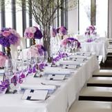 【創作イタリアン MILANO|GRILL】ディナーレストランとして人気の高い会場を、お二人のためだけの空間に。