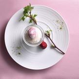 イタリア料理の枠に捉われない自由な発想と様々な技法で 食事の美味しさを最大限に引き出しつつ、食材のストーリーを一皿ひとさらに 表現したアルジェントASAMIのイタリア料理
