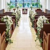 徳島では唯一の劇場型のチャペル。『徳島』で『結婚式』を挙げるなら『ザ・パシフィックハーバー』へ。