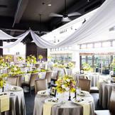 ハーバービューを眺めながらのパーティはいかがでしょうか?『徳島』で『結婚式』を挙げるなら『ザ・パシフィックハーバー』へ。