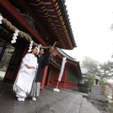 国内2位の広さを誇る日光二荒山神社の境内。撮影ポイントもたくさん。