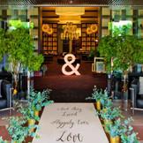 ゲストのみなさまを最初に見る空間。こんな素敵なロビーだと結婚式当日ワクワク感がさらにUP。「徳島」で「ガーデンウエディング」「結婚式」を挙げるなら「ザ・ディスティーノガーデン」へ。