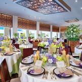 インド洋の楽園モルディブをイメージした個性的で格調高いパーティ会場