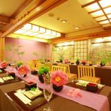 少人数のお食事会にぴったりな料亭「銀座」。和会席にて36名までのお食事会を楽しめる。