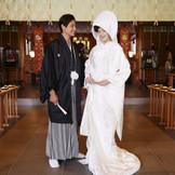 約400年の歴史を誇るホテル隣接の神社「佐佳枝廼社」で感動の本格神社婚