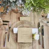 ゲストのテーブルもお二人らしさが出せます!