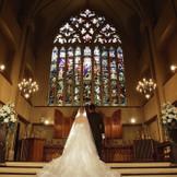 バックスタイルがより美しく見える祭壇