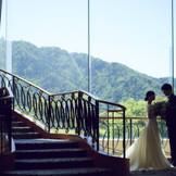 岐阜を象徴する金華山、美しい流れの長良川など地元岐阜の景色が一望できます。