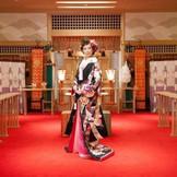 今流行の神前式 やっぱり日本人は和の心で♪