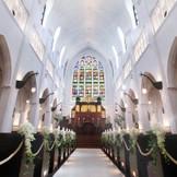 花嫁の憧れを全て叶えるエリア唯一の大聖堂