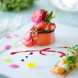 イタリアンとフレンチの創作融合料理
