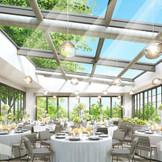 ルーフトップに立つ 全天候型グラスハウスの「SORANIWA」など、4つの個性的な会場