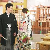 日本神話にも登場する伊勢神宮の主祭神・天照大神が祀られた、厳かな神殿