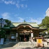 天正10年豊臣秀吉の大阪城に当たり替地を命ぜられ、寛永年間現在地に遷座されました。
