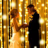 光のカーテンでロマンティックに