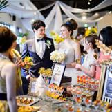 デザートブッフェも根強く人気の演出です!『徳島』で『結婚式』を挙げるなら『ザ・パシフィックハーバー』へ。
