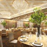 9月にリニューアルオープン「マグノリア」。ホテルウェディングとして相応しい豪華な披露宴会場として生まれ変わります。