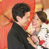 伝統を大切にしながらモダンな装いも。和装も150着と豊富なので衣裳にこだわりたい花嫁にぴったり
