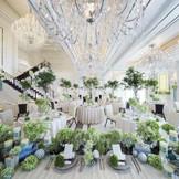 ニューヨークのマンハッタンにある最先端ブランドホテルをイメージしたスタイリッシュな会場「ニューヨーククリスタル」。