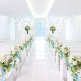 【名駅】花嫁の姿をより引き立ててくれる純白のチャペル