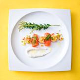 大人気のオリジナル婚礼料理。 味はもちろん、見た目でも楽しめるTHE GOTEMBAKANの自慢の料理