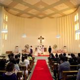 由緒正しい教会での挙式