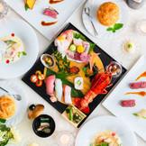 ゲストも大満足の懐石皿鉢料理!!