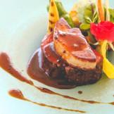 【国産和牛フェレ肉低温調理ポアレロッシーニ風】お肉にストレスをかけずに調理、まさに絶品です!!