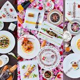 コースは全7コース 使用している食材の数も素材も結婚式場ではなかなかないお料理です♪ 大切な皆様へ~最高のおもてなしWedding~が叶います☆