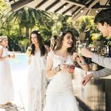 ウエディングフェアでは、リゾートウエディングをご紹介♪おふたりだけの特別な空間で、ゲストとともにアットホームなパーティーを演出♪自慢のお料理と人気の演出を体験しよう!