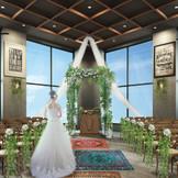 【20階新会場 THE STYLE No.20】 ミュージックホールと名のついたセレモニースペースはおふたりらしい新しい誓いを演出/完成予想図