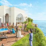 海一望のガーデンはベイサイド迎賓館だけの特別な空間!