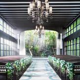 自然光に包まれた開放感溢れるセレモニースペース(音楽堂)