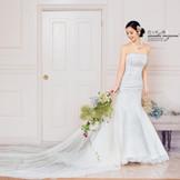 結婚式のドレスはご新婦様に調整できます ご体調に合わせたサイズの変更も当日のご対応も可能
