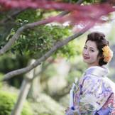 絵になる美しい庭園の中で、写真もゆっくり撮影して