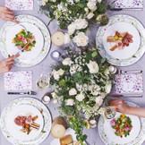 まずは目で見て 華やぐ香り そして味わい五感で楽しむ料理