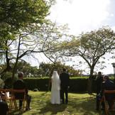 宮城県知事公館でガーデン挙式も可能