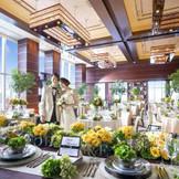高級アジアンリゾートのようなパーティ会場「モダンスイート」。