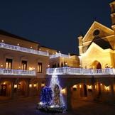 夜の雰囲気も人気のグランドパティオ都城